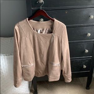 Jackets & Blazers - Suede jacket